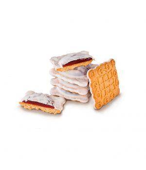 Печенье Делиция Маргаритка в белой глазури 1000 г