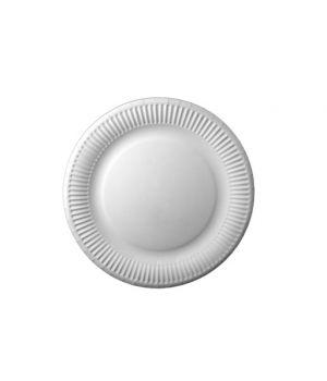 Тарелка бумажная 180 мм 100 шт