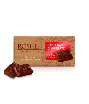 Шоколад Roshen Экстрачерный 70% 90 г