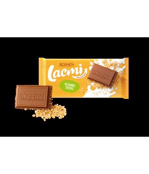 Шоколад Roshen Lacmi молочный с сезамом 90 г