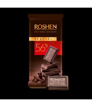 Шоколад Roshen Черный Special 56% 90 г