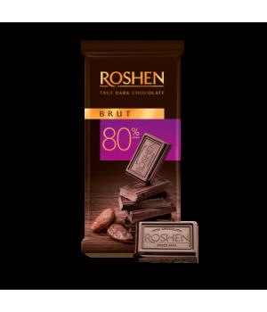 Шоколад Roshen Черный Brut 80% 90 г