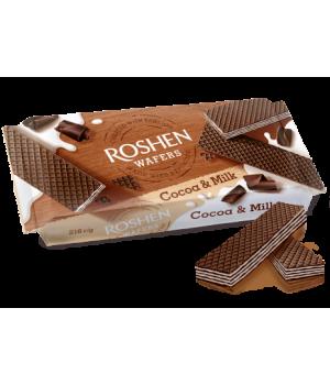 Вафли Roshen Wafers Cocoa&Milk 216г