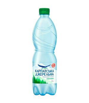 Вода Карпатська Джерельна сл\газ (пластик) 500 мл