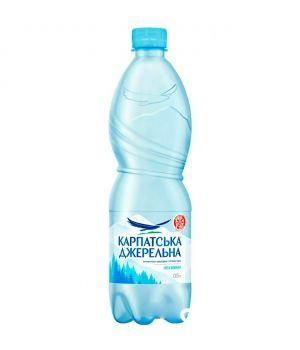 Вода Карпатська Джерельна без газа (пластик) 500 мл