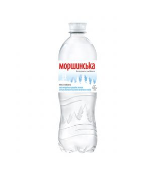 Вода Моршинська без газа (пластик) 500 мл
