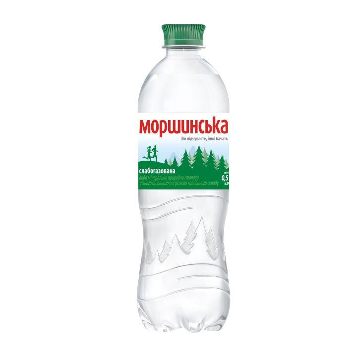Вода Моршинська сл\газ (пластик) 500 мл