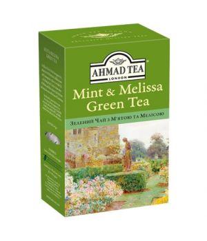 Чай зеленый листовой Ахмад с Мятой и Мелисой 75 г