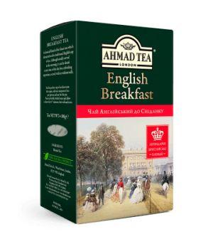 Чай черный листовой Ахмад Английский к Завтраку 100 г