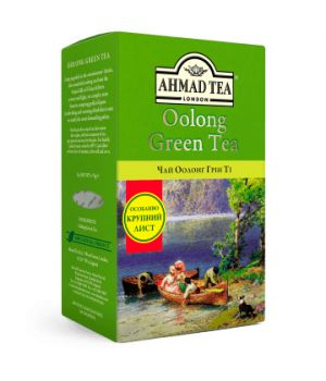 Чай зеленый листовой Ахмад Оолонг Грин Ти 75 г