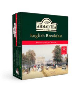 Чай черный пакетированный Ахмад Чай Английский к Завтраку 100 х 2 г