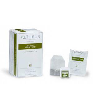 Чай зеленый пакетированный Althaus Жасмин Тинг Юань 20 х 1.75 г