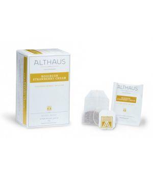 Чай травяной пакетированный Althaus Ройбуш Клубника со Сливками 20 х 1.75 г