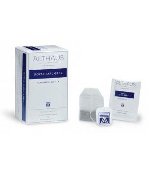 Чай черный пакетированный Althaus Ройал Эрл Грей 20 х 1.75 г
