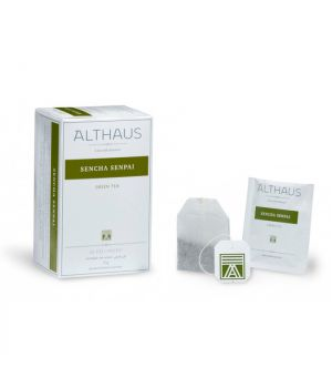 Чай зеленый пакетированный Althaus Сенча Сенпай 20 х 1.75 г