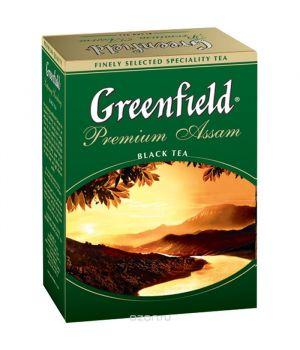 Чай черный листовой Greenfield Премиум Ассам 100 г