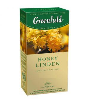 Чай травяной пакетированный Greenfield Хани Линдер 25 х 1.5 г