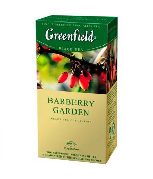 Чай фруктовый пакетированный Greenfield Барбери Гарден 25 х 1.5 г