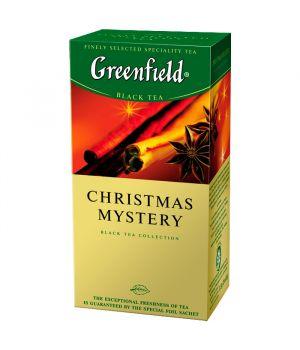 Чай травяной пакетированный Greenfield Кристмас Мистери 25 х 1.5 г