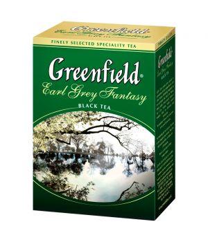 Чай черный листовой Greenfield Ерл Грей Фентези 100 г