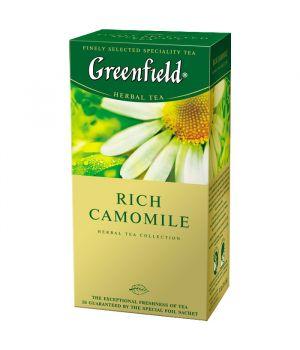 Чай травяной пакетированный Greenfield Рич Камомайл 25 х 1.5 г