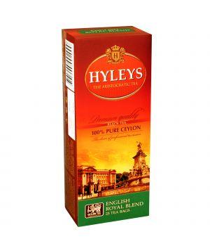 Чай черный пакетированный Hyleys Английский  Королевский Купаж 25 х 1.5 г