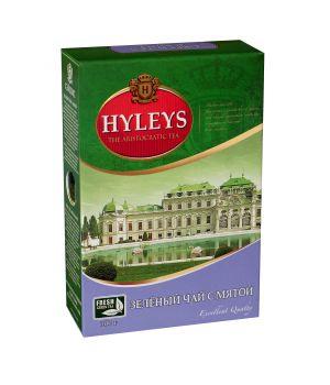 Чай зеленый листовой Hyleys с Мятой 100 г