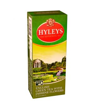 Чай зеленый пакетированный Hyleys с Жасмином 25 х 1.5 г