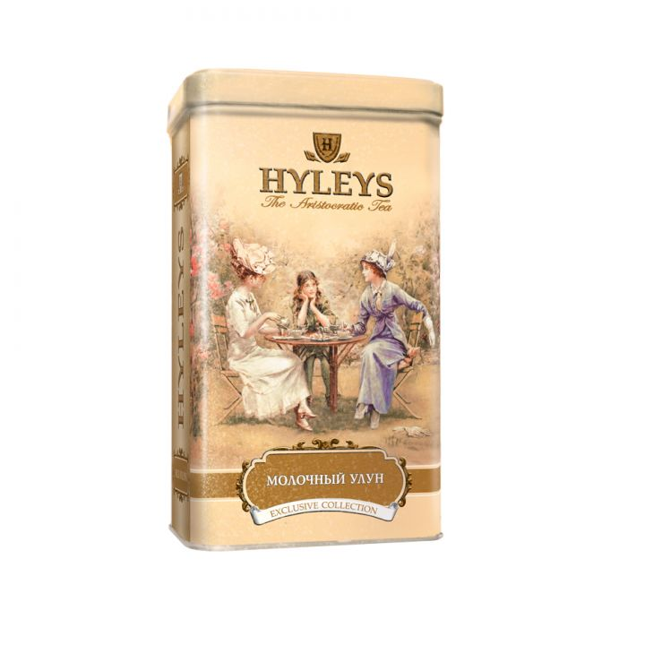 Чай зеленый листовой Hyleys Молочный Улун ж\б 125 г