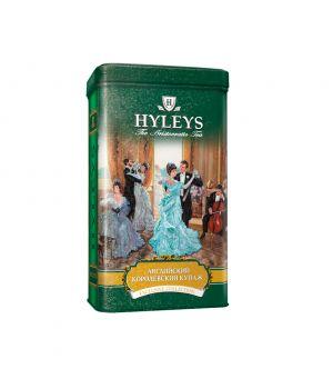 Чай черный листовой Hyleys Английский Королевский Купаж ж\б 125 г