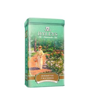 Чай зеленый листовой Hyleys с Жасмином ж\б 125 г