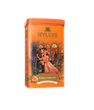 Чай черный листовой Hyleys Английский Плод Страсти ж\б 125 г