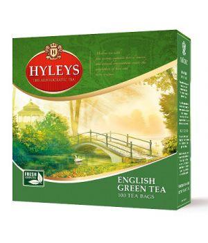 Чай зеленый пакетированный Hyleys Английский зеленый 100 х 2 г