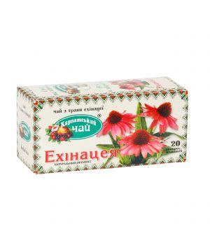 Чай травяной пакетированный Карпатский Эхинацея 20 х 2 г