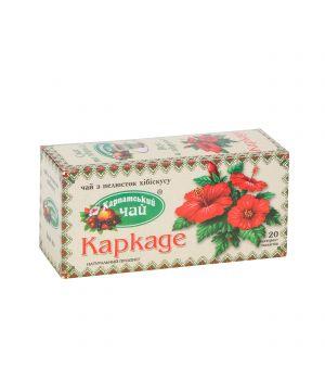 Чай травяной пакетированный Карпатский Каркаде 20 х 2 г