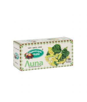 Чай травяной пакетированный Карпатский Липа 20 х 2 г