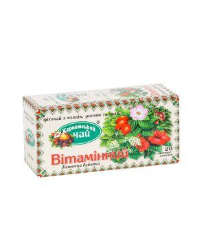 Чай травяной пакетированный Карпатский Витаминный 20 х 2 г