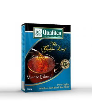 Чай черный Qualitea Золотой Лист Monte Blend 100 г