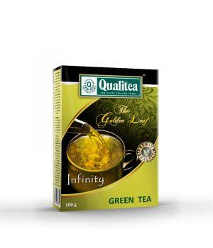 Чай зеленый Qualitea Золотой Лист Infinity 100 г