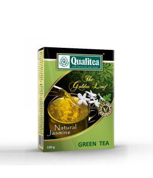 Чай зеленый Qualitea Золотой Лист Natural Jasmine 100 г