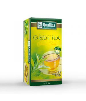 Чай зеленый пакетированный Qualitea Зеленый 25 х 2 г