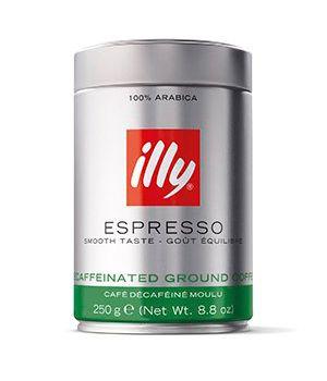 Кофе молотый illy Decaf ж/б 250 г