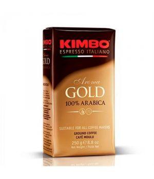 Кофе молотый Kimbo Espresso Aroma gold 100% Arabica 250 г