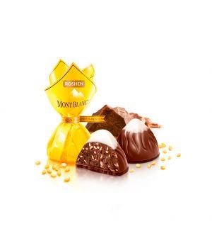 Конфеты Roshen Монблан с шоколадом и сезамом 1000 г