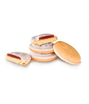 Печенье Делиция в молочной глазури со вкусом вишни 1000 г