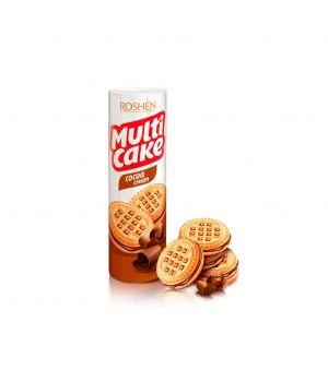 Печенье-сендвич Roshen Multicake с начинкой какао 180 г