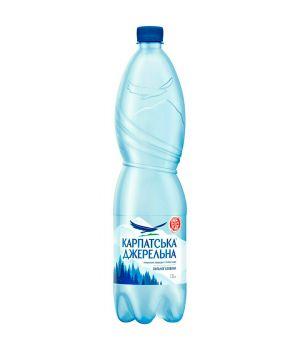 Вода Карпатська Джерельна сил\газ (пластик) 1500 мл
