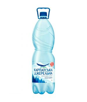 Вода Карпатська Джерельна сил\газ (пластик) 2000 мл