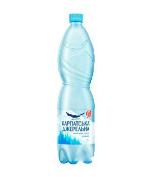 Вода Карпатська Джерельна без газа (пластик) 1500 мл