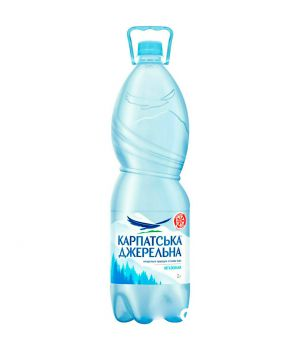 Вода Карпатська Джерельна без газа (пластик) 2000 мл